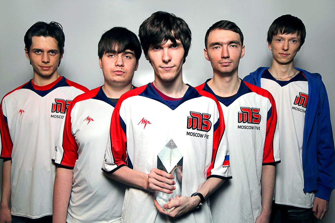 Moscow Five League of Legends